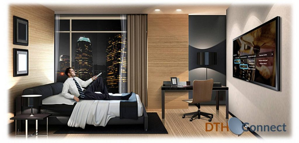 DTH Connection for hotels, hostels and guest houses