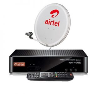 Airtel Digital TV HD Set Top Box DTH Connection