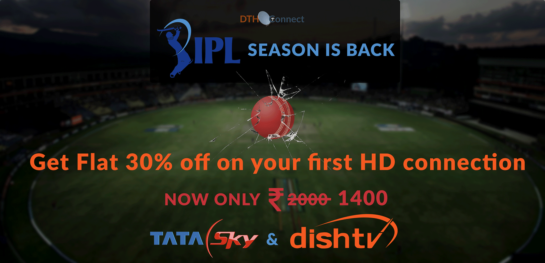 DTH-Connect-IPL Banner
